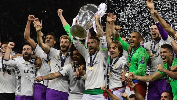 Real Madrid tocó el cielo, bajó una estrella y la colocó en la parte superior de la 'duodécima' Champions League para que le diera el brillo que se merece. Hoy los 'blancos' son los monarcas absolutos de Europa y con total autoridad. (Foto: AFP)
