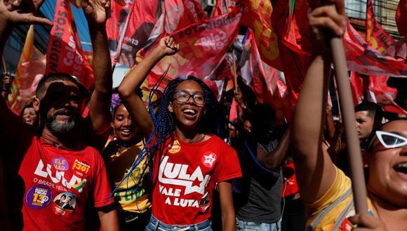 El Partido de los Trabajadores, la formación liderada por el expresidente Lula da Silva, fue la que más gobiernos regionales obtuvo en la primera vuelta de las elecciones de Brasil. (Reuters)