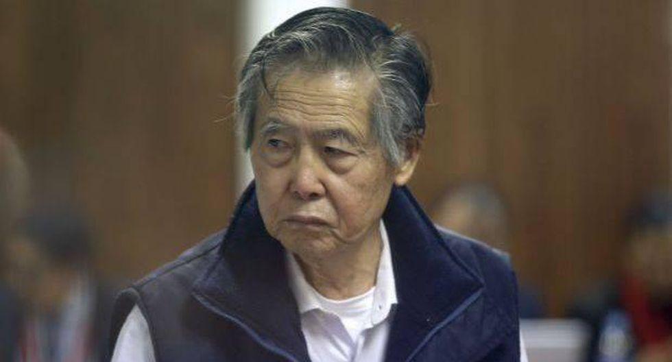 Alberto Fujimori fue trasladado a clínica por presión baja