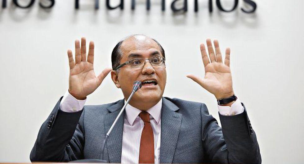 Luis Huerta ya no será procurador supranacional encargado. El titular aún no ha sido nombrado. (Foto: USI)