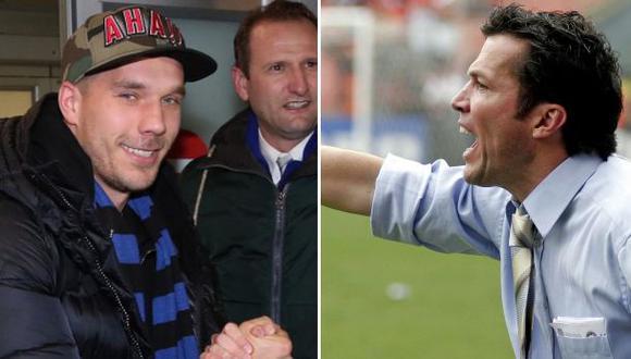 Lothar Matthäus criticó a Podolski por tuitear más que jugar