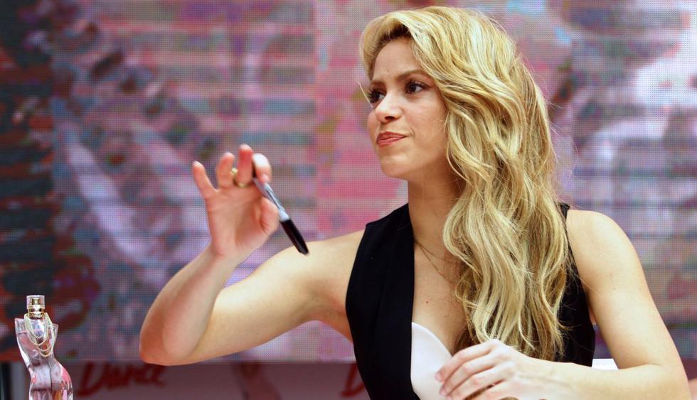 """Shakira se refirió al video de Britney Spears bailando al ritmo de su canción """"Chantaje"""". (Foto: AFP)"""