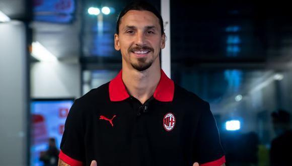 Ibrahimovic extendió su vínculo con AC Milan por una temporada. (Foto: AC Milan)