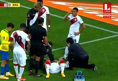 Perú vs. Brasil: Richarlison y el codazo que abrió la ceja de Miguel Trauco | VIDEO