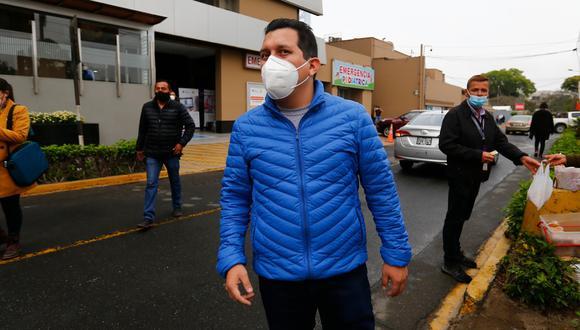 El congresista José Luna (Podemos Perú) ha requerido más de cien reportes a la SBS de información que pondría en riesgo hasta la vida de las personas, según la entidad.  (Foto: Hugo Curotto/GEC)