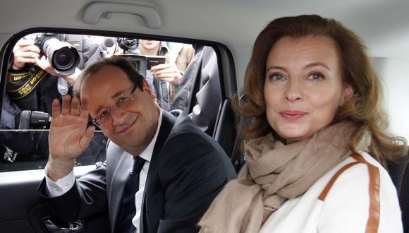 Hollande y Trierweiler sellan su ruptura
