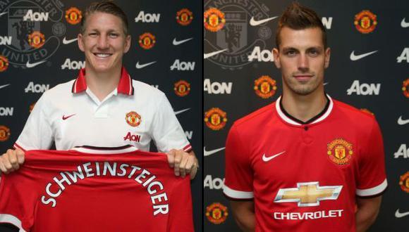 Manchester United presentó a Schweinsteiger y un nuevo fichaje