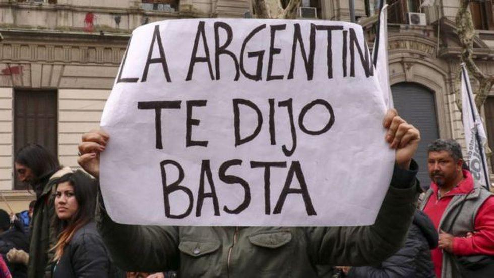 Pese a la derrota de Macri en las elecciones primerias, la crisis política actual es muy diferente a la de 2001. (Foto: Getty Images)