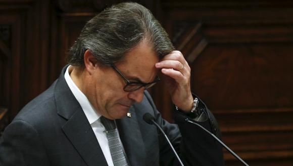 Parlamento catalán rechaza de nuevo la investidura de Artur Mas
