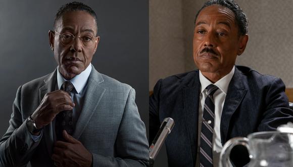"""Giancarlo Espósito, de villano en """"Breaking Bad"""" (izq.) a luchador de los derechos civiles en """"Godfather of Harlem"""" (der.). La serie llega este sábado a Fox Premium. (Fotos: AMC/ Epix)"""