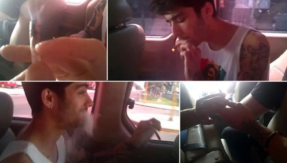 One Direction: fans apoyan a cantantes captados fumando hierba
