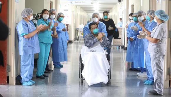 La cantidad de pacientes recuperados aumentó este viernes. (Foto: Minsa)