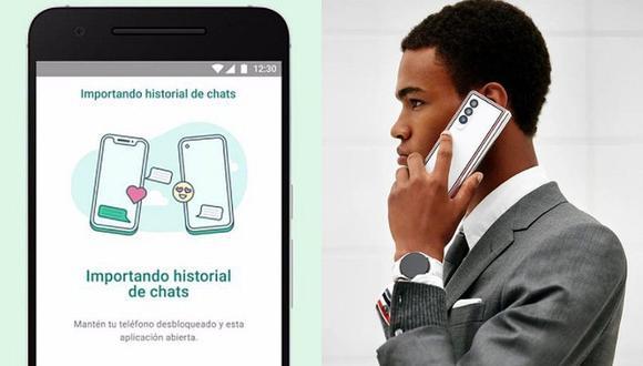 Los smartphones Samsung son los privilegiados para la migración de conversaciones de iOS a Android. (Foto: WhatsApp / @samsungmobile Instagram)