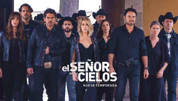 """""""El señor de los cielos"""" se emitió por primera vez el pasado 15 de abril de 2013. (Foto: Telemundo)"""