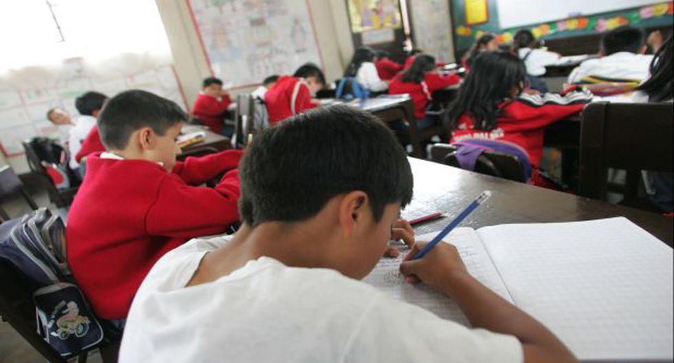 Decreto de Urgencia del Minedu dispone que devolución de cuota de ingreso en casos de retiro voluntario o traslado se debe realizar sin la necesidad de que exista responsabilidad del centro educativo. En el Perú existen más de 40 mil colegios privados. El 30% de estos se concentra en Lima. (Foto: referencial)