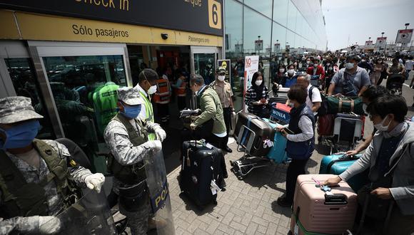 Ejecutivo amplía suspensión de vuelos procedentes de Reino Unidos, Brasil y Sudáfrica.(Foto: Joel Alonzo / GEC Archivo)