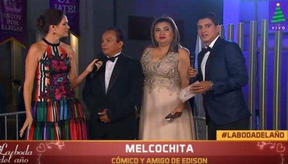 """Melcochita"" le creó un apodo a Edison Flores antes del matrimonio del jugador. (Imagen: Latina)"