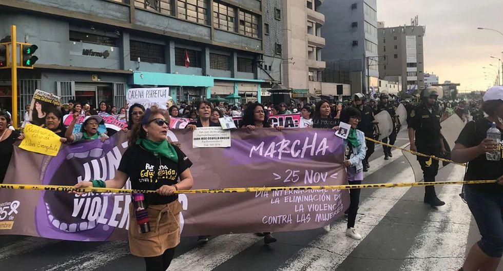 Este año se han registrado varias protestas contra la violencia a las mujeres. (Foto: GEC)