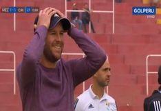 Sporting Cristal vs. Melgar: Manuel Barreto y su impotencia por el penal no cobrado a Cristian Palacios [VIDEO]