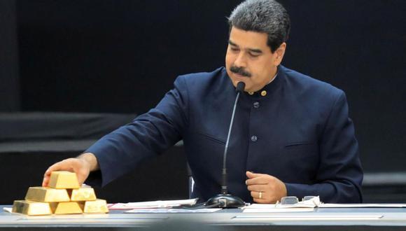 El gobierno de Maduro, a través del Banco Central de Venezuela presidido por Calixto Ortega, intenta sin éxito desde octubre de 2018 recuperar 32 toneladas de oro de la reserva nacional, valoradas en mil millones de dólares, que tiene guardadas en las cámaras acorazadas del Banco de Inglaterra. (Foto: Marco Bello / Reuters)