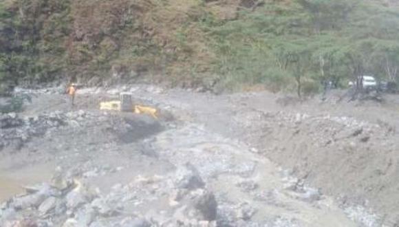 Cusco: caída de huaico interrumpe tránsito en carretera Chaullay - Vilcabamba