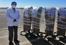 Minsa entrega a la Diresa Puno cinco ventiladores volumétricos para atención de pacientes COVID-19