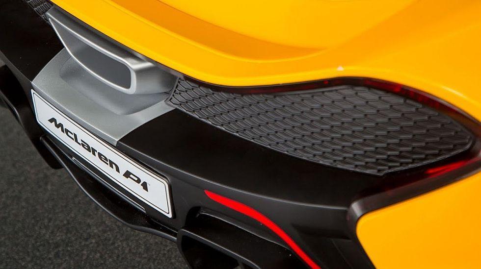 McLaren lanzó un P1 totalmente eléctrico que destaca por ser el más barato de toda su gama al costar menos de 500 dólares. (fotos: McLaren)