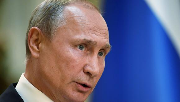 """Vladimir Putin promete una """"respuesta simétrica"""" a la prueba de misil de Estados Unidos. Foto: Archivo de AFP"""