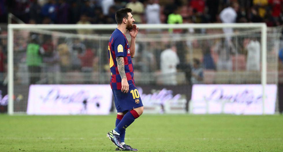 Atlético de Madrid logró el jueves una impresionante victoria 3-2 ante Barcelona para reservar un lugar en la final de la renovada Supercopa española que se disputa en Arabia Saudita, donde enfrentará el domingo en un nuevo derbi al Real Madrid. (REUTERS/Sergio Perez)