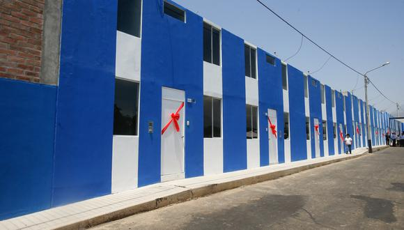 """Viviendas de Techo Propio del proyecto """"Siembras del Valle"""", Virú, La Libertad. (Foto: Ministerio de Vivienda, Construcción y Saneamiento)"""