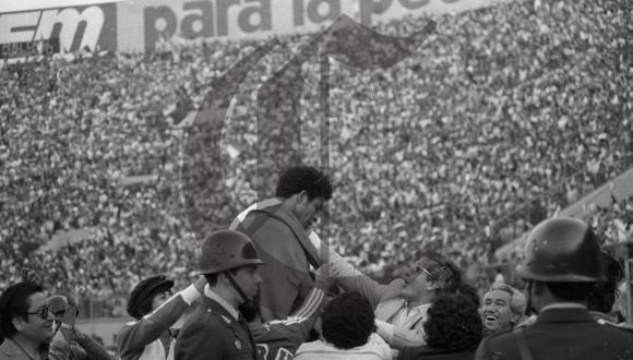 El adiós al fútbol de Héctor Chumpitaz