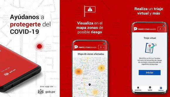 Aplicación 'El Perú en tus manos'. (Imagen: Gobierno del Perú)