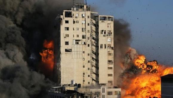"""""""Hay una buena razón por la que Hamas es considerado oficialmente un grupo terrorista por Estados Unidos y los 27 países de la Unión Europea"""". (Reuters)."""