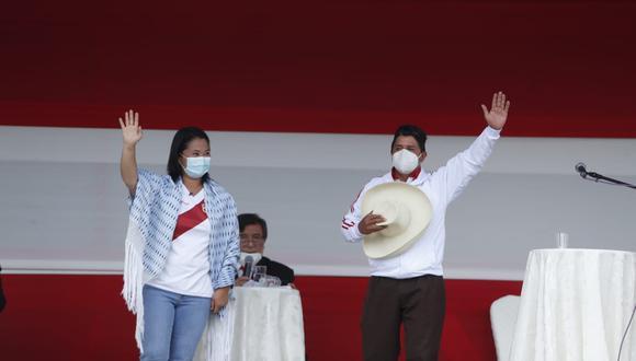 Un debate no es un mitin, ni un mitin es lo mismo, en medio de la pandemia. (Fotos Hugo Pérez / GEC)
