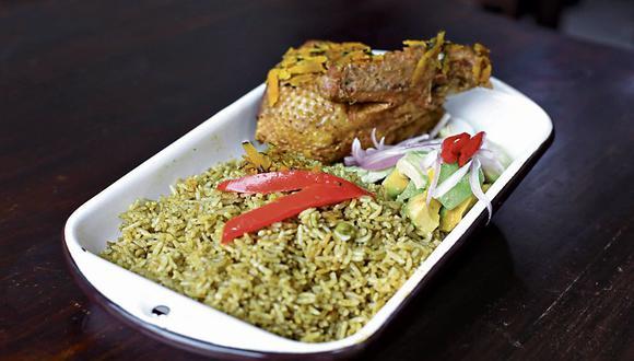 El arroz con pato. (Foto referencial: Marco Ramón)
