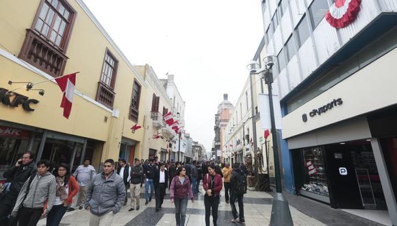 Lima es el destino preferido para los visitantes de otras ciudades del país. (Foto: GEC)
