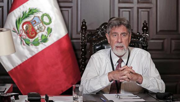 """""""Bienvenidos al Estado sanitario, mucho más importante ahora que el Estado de bienestar socialdemócrata"""". (Foto: Presidencia Perú)."""