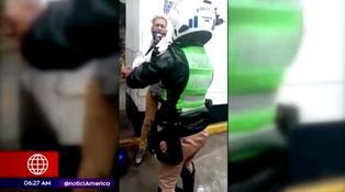 La Victoria: sujeto agrede a mujer policía para evitar su intervención