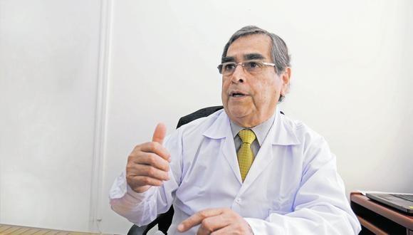 Oscar Ugarte cuenta cómo se recuperó del coronavirus. (Foto: Andrés Cuya)