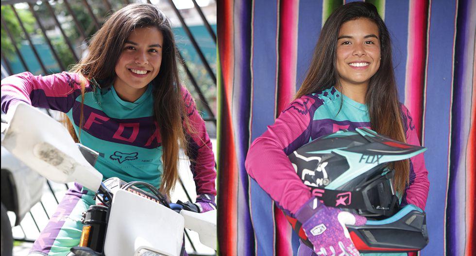 Melissa Caballero participará esta semana en el Inka Hard Enduro. (Fotos: Marco Ramón / El Comercio)
