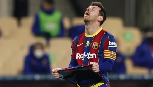 Barcelona defenderá a Lionel Messi frente a sanción. (Foto: Reuters)