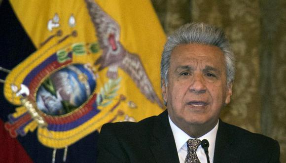 El presidente de Ecuador, Lenín Moreno, prorrogó por 30 días más el estado de excepción por la pandemia de coronavirus  (Foto: Rodrigo BUENDIA / AFP).
