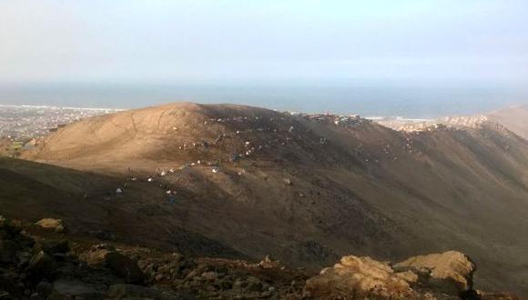Chorrillos: intervienen Morro Solar tras invasión de terrenos