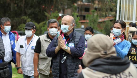 Hernando De Soto, candidato a la presidencia por Avanza País. (Foto: GEC)