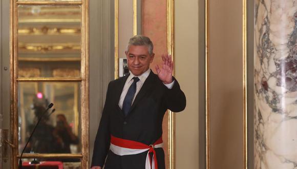 José Elice Navarro juró la noche del lunes como ministro del Interior (Foto: Mininter)