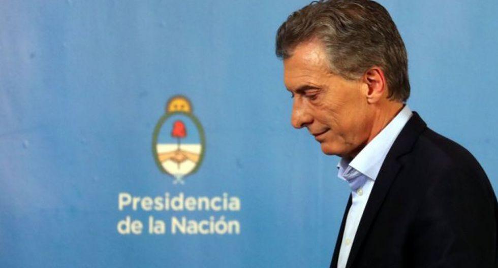 Mauricio Macri, de ser reelegido, no se sabe cómo hará para manejar la abultada deuda pública. (Foto: Reuters)