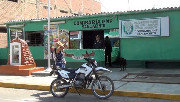 Según la policía, las víctimas registraban varios ingresos al penal de Chimbote por el delito de extorsión (Foto: cortesía)
