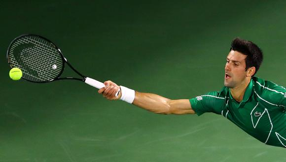 Novak Djokovic cumple el desafío que creó Andy Murray. (Foto: REUTERS/Ahmed Jadallah)