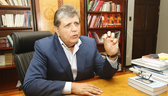 El ex presidente Alan García tenía una orden de detención preliminar en su contra por 10 días. (Foto: GEC)