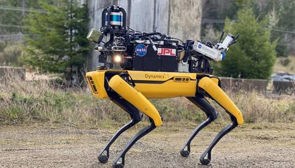 Una vista del prototipo desarrollado por la NASA basado en la plataforma robótica de Boston Dynamics. (Difusión)